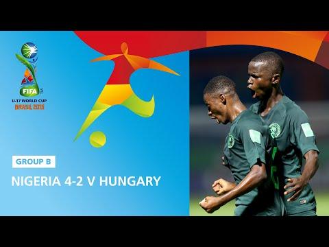 U17 VB: 79 percig vezettünk Nigéria ellen, végül két góllal kikaptunk: Videó