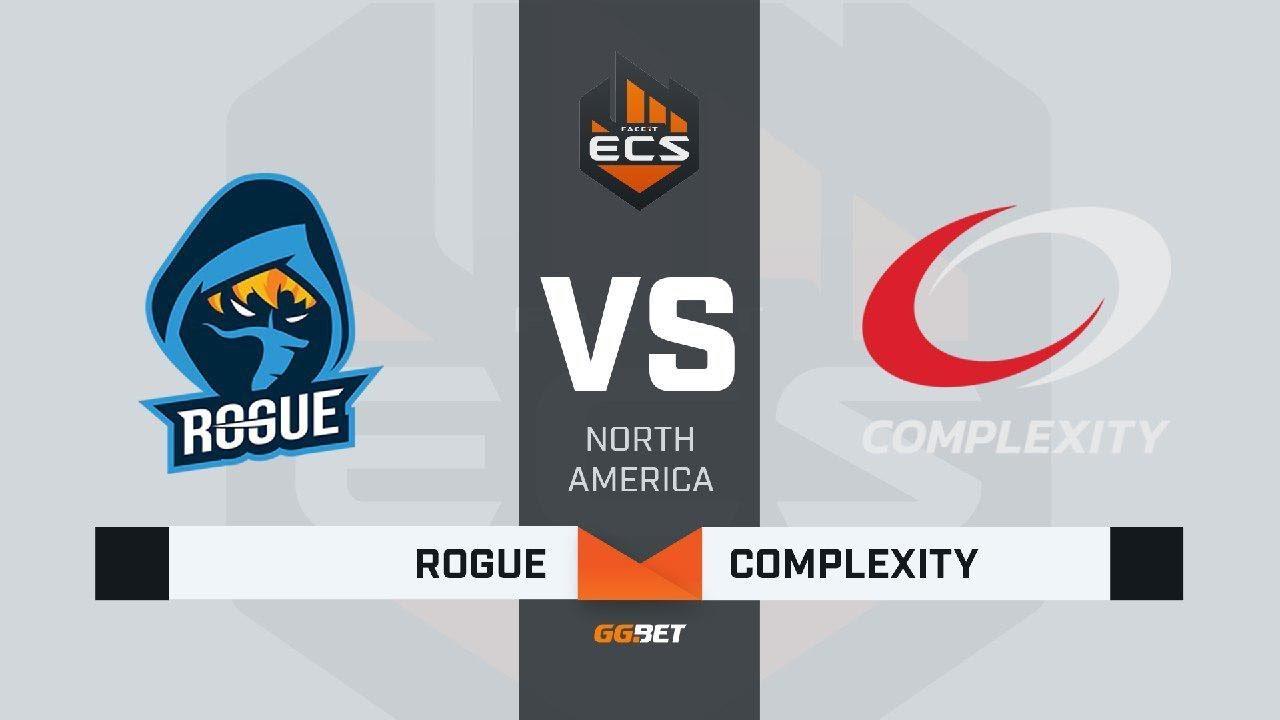Rogue vs compLexity, map 2 overpass, ECS Season 7 North America