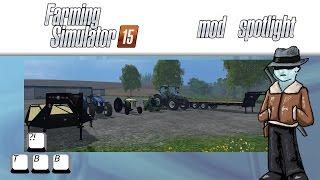 Farming Simulator 15 Mod Spotlight - Blue Tractors