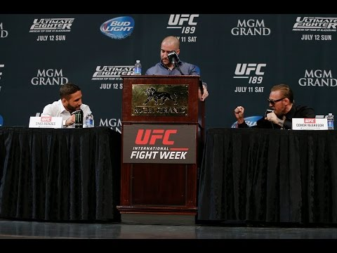 UFC 189 press conference
