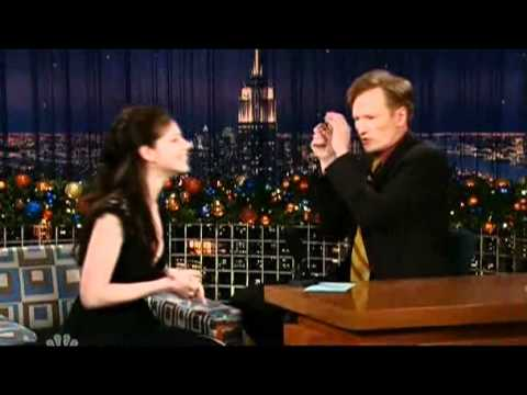 Michelle Trachtenberg about her Guest Appearance on House @ Conan O'Brien 22122006