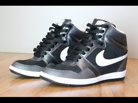 908d633fc9535 Nike Force Sky High [Black & White] - YouTube
