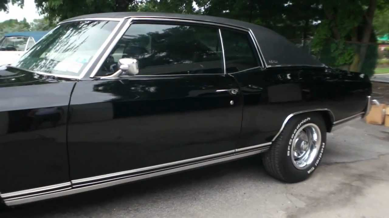SOLD -- 1971 Chevrolet Monte Carlo For Sale~Very Rare Factory 402 Big  Block~4 Speed