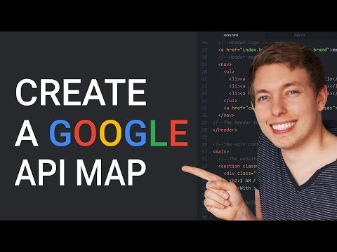 33: Create a Google map in a website | Google API Map | Learn HTML and CSS | HTML tutorial