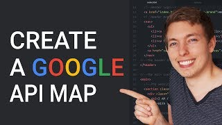 33: Create a Google map in a website | Google API Map | Learn HTML and CSS | HTML tutorial Free HD Video