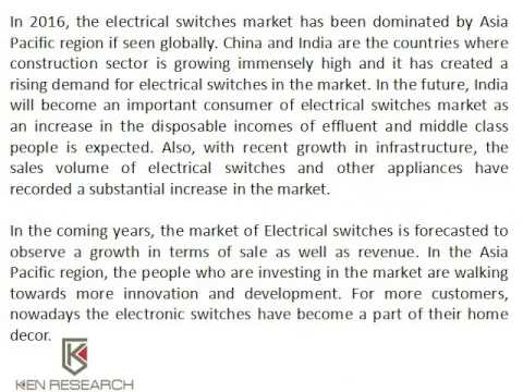 Global Electrical Switches Market Research Report, Asia-Pacific Light Control Switches Market Trends