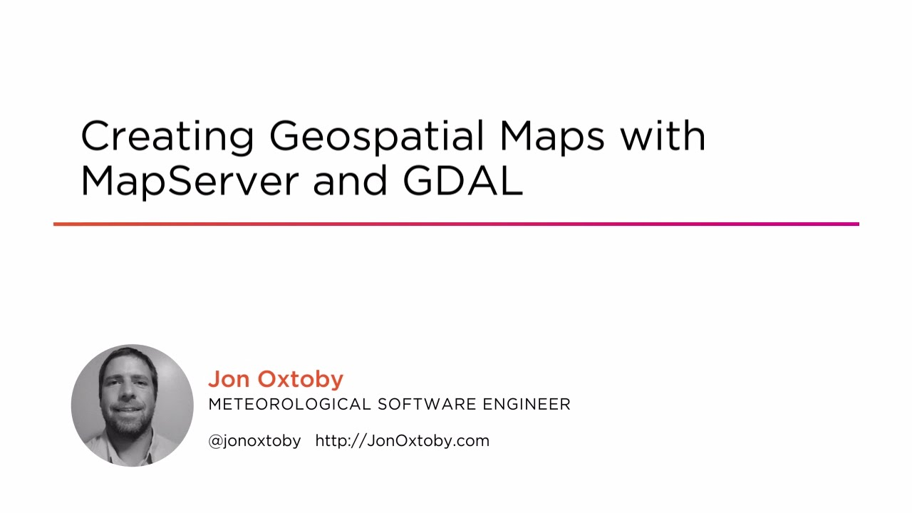 Creating Geospatial Maps with MapServer and GDAL | Pluralsight