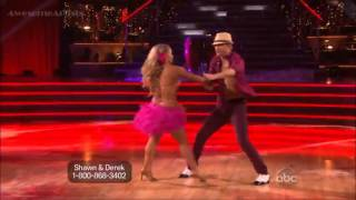 Shawn Johnson and Derek - Mambo - (DWTS Allstars Week 4)