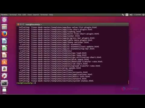 How To Install Linux-Dash In Ubuntu