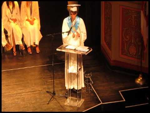 Steven Claunch SAS Miami Graduation Speech
