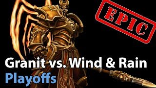 ► EPIC Heroes of the Storm: Granit Gaming vs. Wind and Rain - Division S Playoffs
