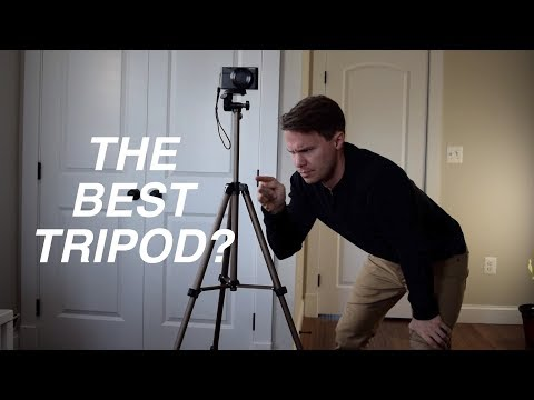 SUPER SERIOUS REVIEW of the AmazonBasics 50-Inch Lightweight Tripod