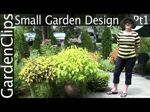 Small Garden Design Part 1 Townhouse Front Yard Garden With