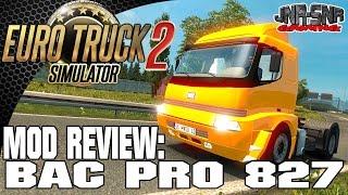 Euro Truck Simulator 2 BMC Pro 827 | Mods Review