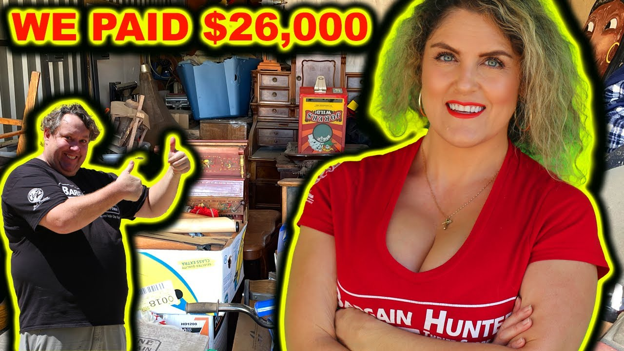 WE PAID 26000 on 5 Abandoned Storage Wars Auction Units Lockers Rene Casey Nezhoda