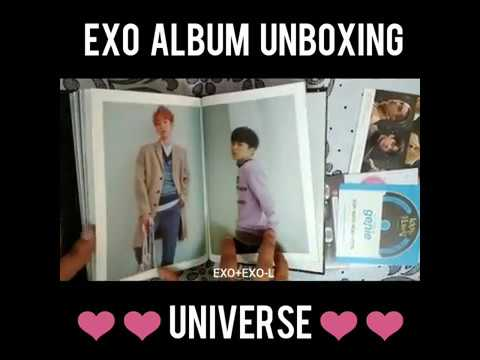 [Unboxing] EXO 'UNIVERSE' - Winter Special...