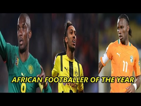 African Footballer of the Year  Winners 1992-2016