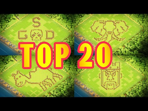 20 Most Satisfying Town Hall 10 Funny Base Builds 2020 + With Link - Clash of Clans (CoC TH10)