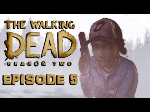 The Walking Dead Season 2 Episode 5 Finale  THESE ARE MANLY TEARS!