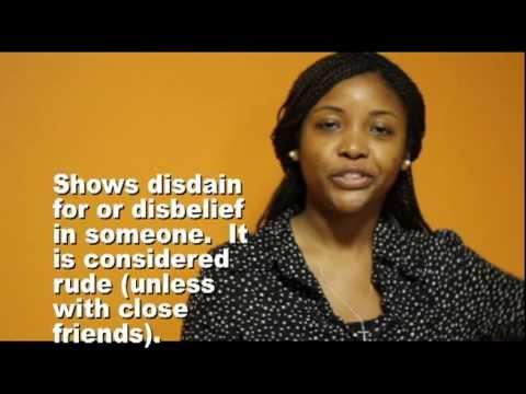 Learn Haitian Creole GESTURES with HaitiHub