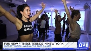 Fun Fitness Trends in NYC on New York Live TV www.nycpretty.com