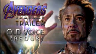 Avengers Endgame Trailer | Tamil | Ironman old voice | venkat eszvagi | cosmos studios | Marvel
