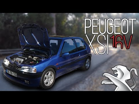 Peugeot 106 XSi vitaminado com 1.6 Cup + IVA claro - Portugal Stock and Modified Car Reviews