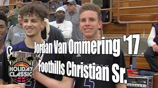 Jordan Van Ommering '17, Foothills Christian Senior Year, 2016 Holiday Classic