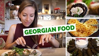 Georgian Food Taste Test - 5 dishes to try in Kiev, Ukraine