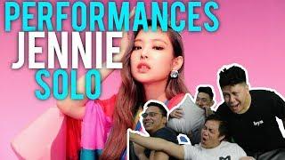 JENNIE SOLO PERFORMANCES (Reactions)