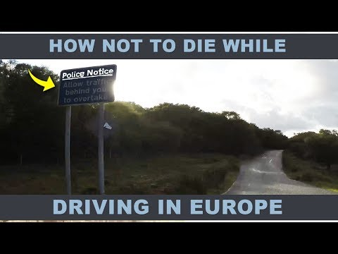 Driving In Europe vs America - Right  Hand Side - Europe Travel Tips Part 2