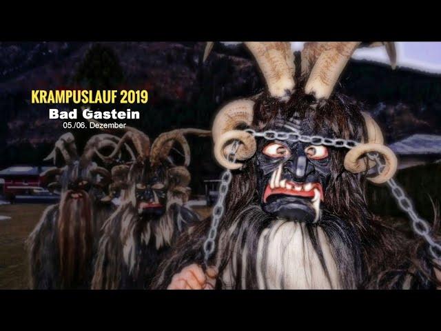 NEW: Gasteiner Krampuslauf 2017/2018, Salzburg - Austria / Krampus, Nikolaus - Čerti Rakousko