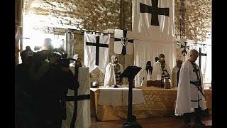 Mesagne: Investitua cavaliere teutonico. la notte di Natale