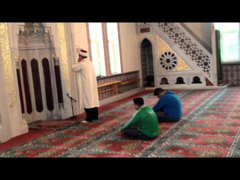 Yusuf Çelik Ehingen Mevlana Camii Din görevlisi Cuma Selası