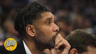 Meet Tim Duncan, coaching genius — will he be Gregg Popovich's successor? | The Jump