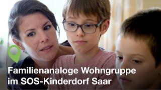 SOS-Kinderdorf Saar: Einblicke in eine Wohngruppe