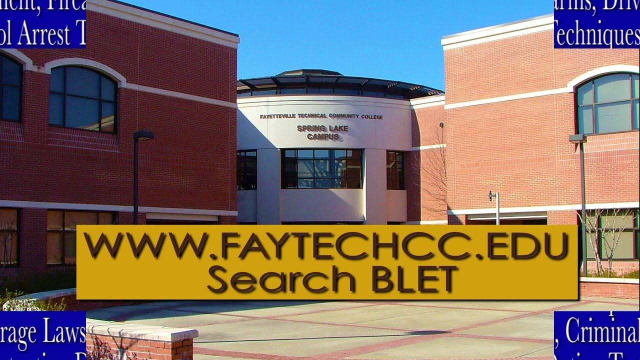 Blet Program At Fayetteville Technical Community College Youtube