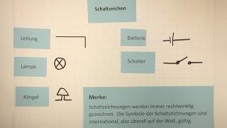 Schaltzeichen | Sachunterricht - Grundschule - Stromkreis zeichnen | Lehrerschmidt