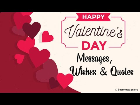 romantic valentines day message best wishes and quotes for boyfriend girlfriends husband wife youtube