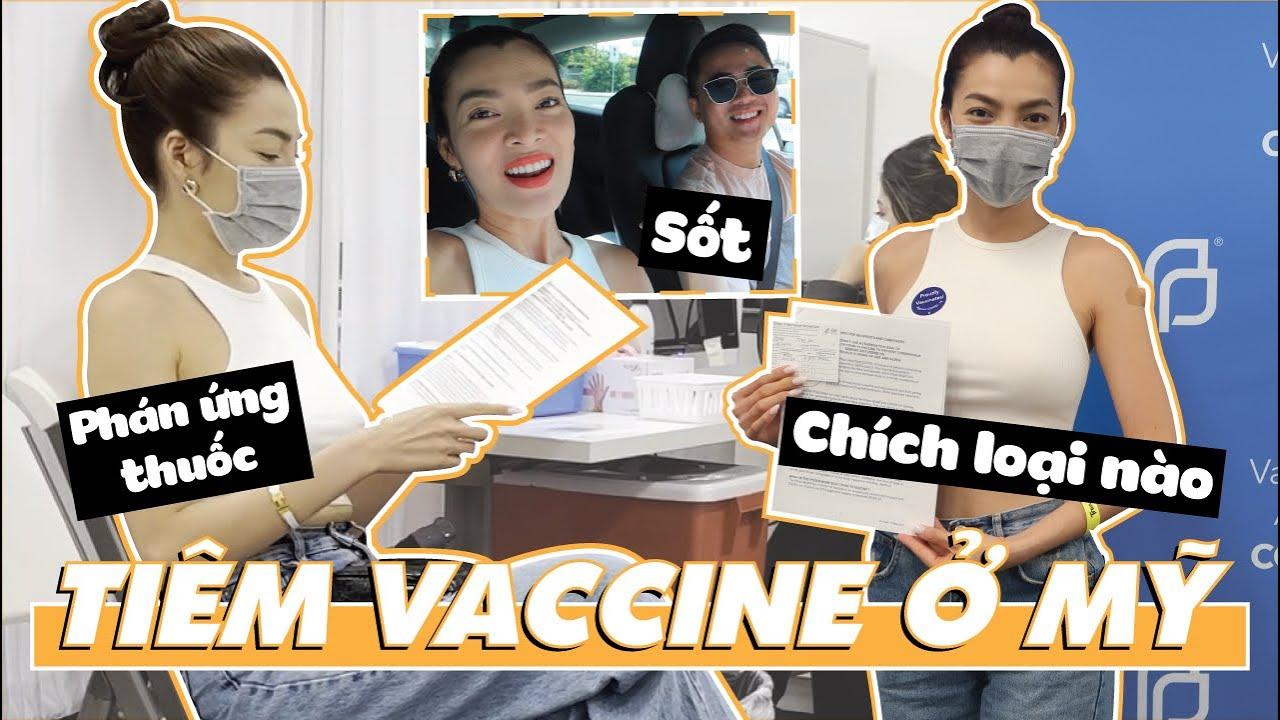 Trân Đài Đã Tiêm Vaccine Ngay Sau Khi Về Mỹ   Tiêm Vaccine Ở Mỹ   Trân Đài Trương Official