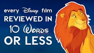 Every Disney Film Reviewed in 10 Words or Less! thumbnail