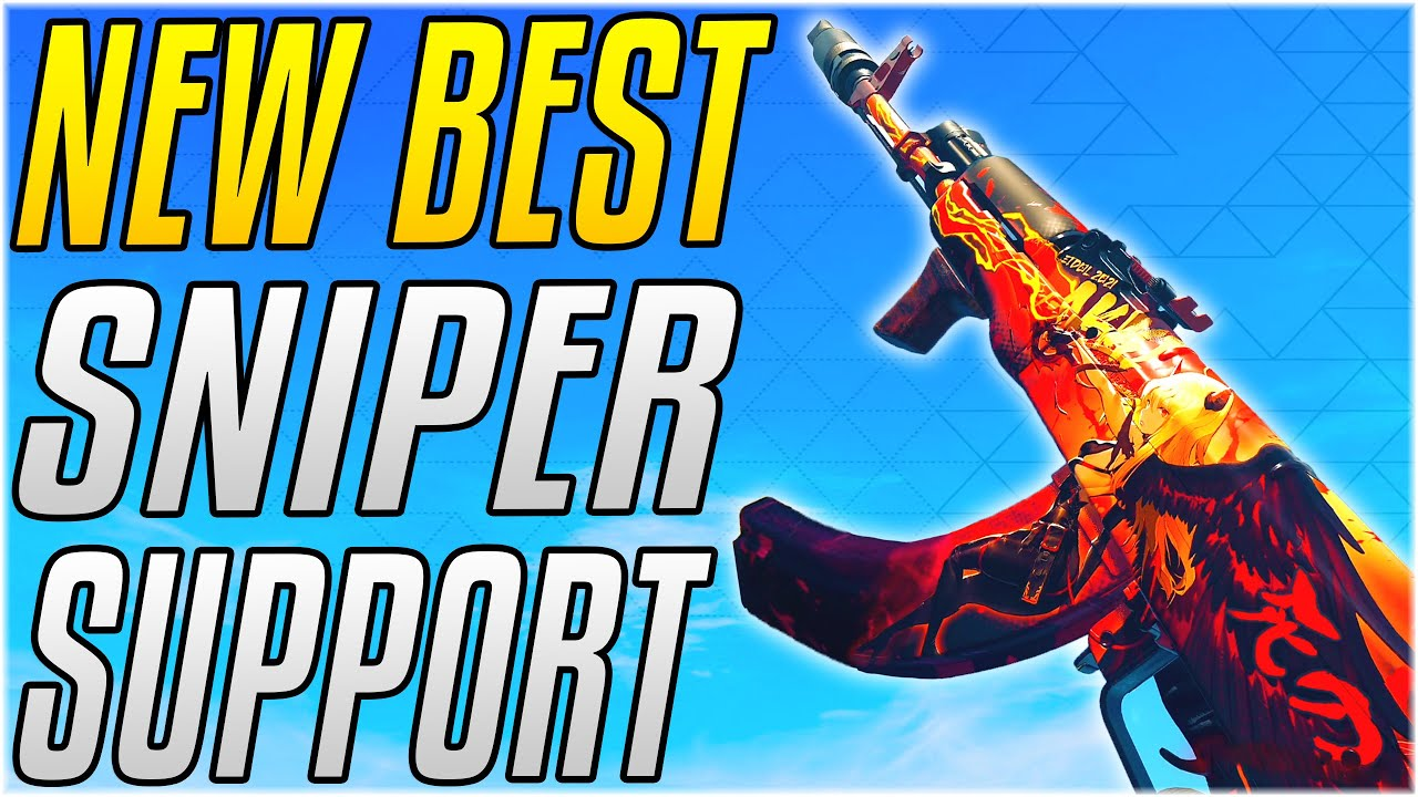 THE BEST GUN TO PAIR WITH YOUR SNIPER!! The Perfect CW AK47 Loadout! [Cold War Warzone]