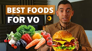 Best Foods For Voice Over Artists