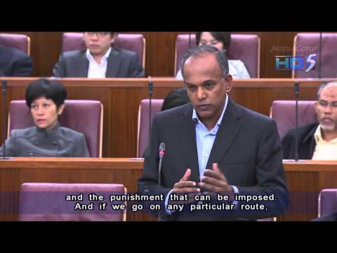 Parliament passes Misuse of Drugs (Amendment) Bill - 14Nov2012