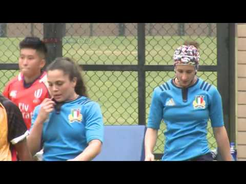 Papua New Guinea vs Italy - World Rugby Women's Sevens Series Qualifiers