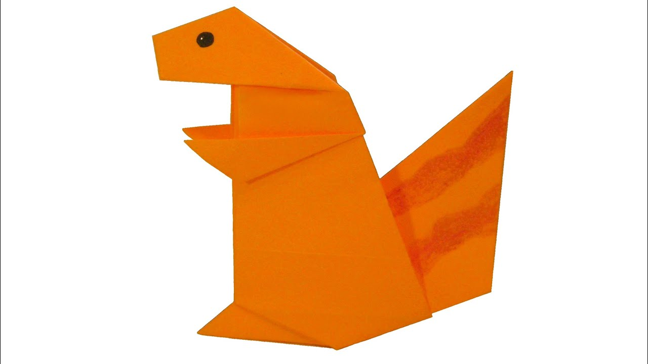 Cute squirrel origami youtube cute squirrel origami jeuxipadfo Choice Image