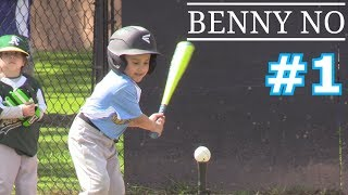 LUMPY'S FIRST BASEBALL GAME | BENNY NO | TEE BALL SERIES #1