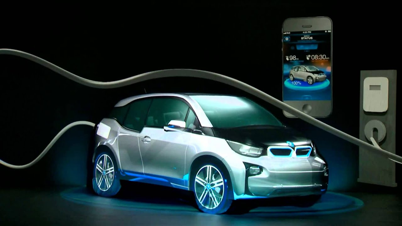 projection video mapping bmw i3 inauguration concession. Black Bedroom Furniture Sets. Home Design Ideas