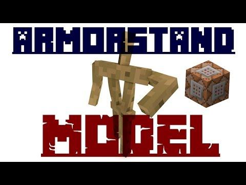 ArmorStand Model 1.11.+ [TUTO CMD #5]