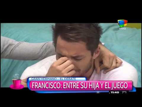 El llanto de Francisco por su alejamiento de Elenita